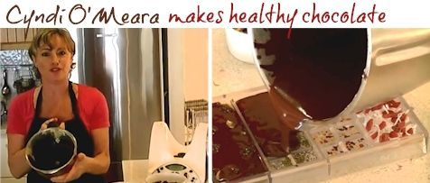 How to make healthy chocolate at home with Thermomix