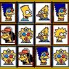 The The Simpsons game called Simpsons Mahjong from the website http://www.f-r-e-e-games.com is a flash game you can play for free without installing anything