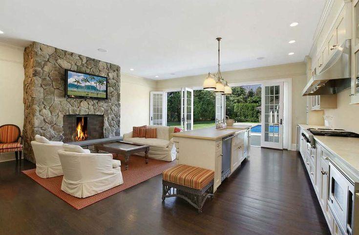 astounding living room kitchen combo   51 best images about kitchen living room combo on ...