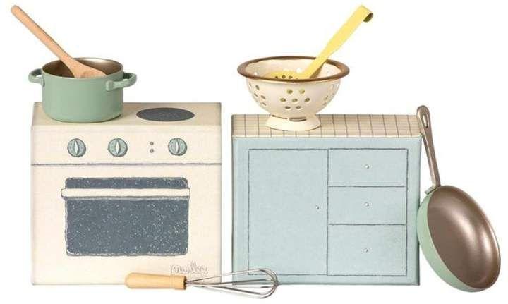Mini A Ture Maileg Miniature Cooking Set Sponsored Affiliate Maileg Ture Mini Cooking Set Maileg Metal Kitchen