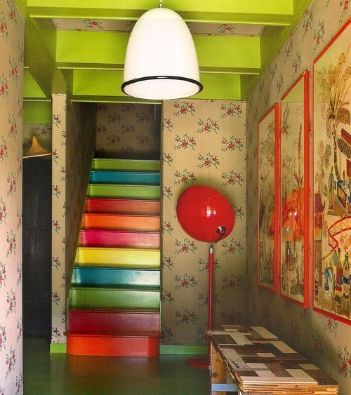 78 Best Ideas For Stair Risers Images On Pinterest