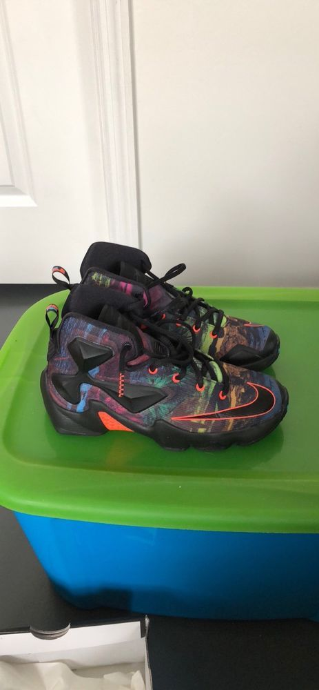 8201e7442f29a Little Kids Nike Lebron James XIII Sneakers Size 4.5 multi color new!  #fashion #clothing #shoes #accessories #kidsclothingshoesaccs #boysshoes  (ebay link)