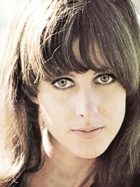 Grace Slick, lead singer of the band Jefferson Airship.
