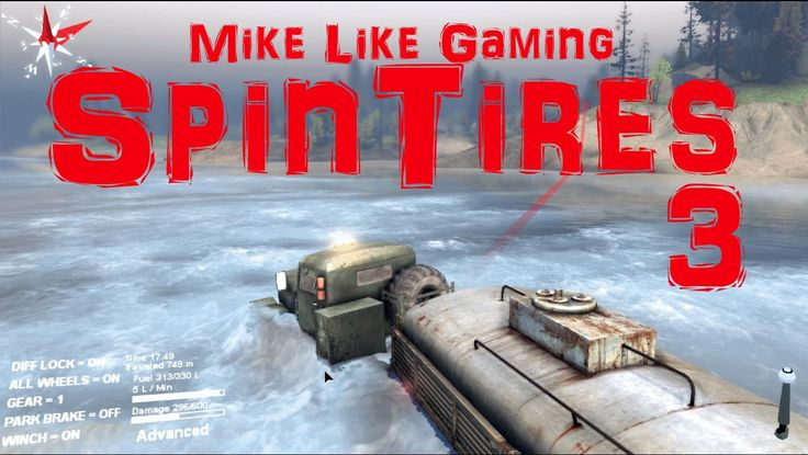 In this third episode of my playthrough of SpinTires: Volcano Map I go for a swim with my trucks.