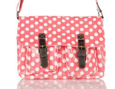 PVC Polka Dot Satchel – HANDBAGS UK http://www.edsfashions.co.uk/product/pvc-polka-dot-satchel-handbags-uk/