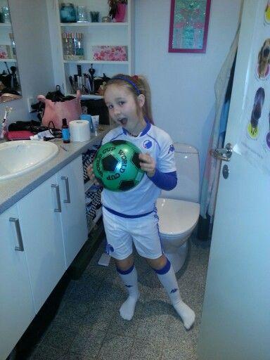 Fodboldspiller fastelavn 2014