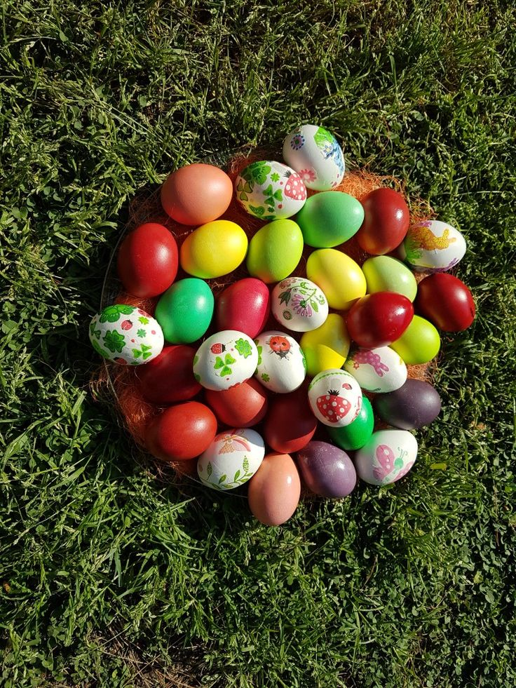 Easter eggs by Sophia