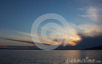 The Adriatic Sea near Stanigrad, Croatia
