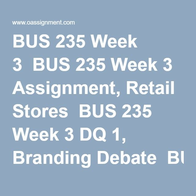 bus 620 week 3 dq 1 View homework help - bus 620 week 3 dq 1 ( market segmentation ) from bus 620 at ashford university there are three effective strategies for segmenting the.