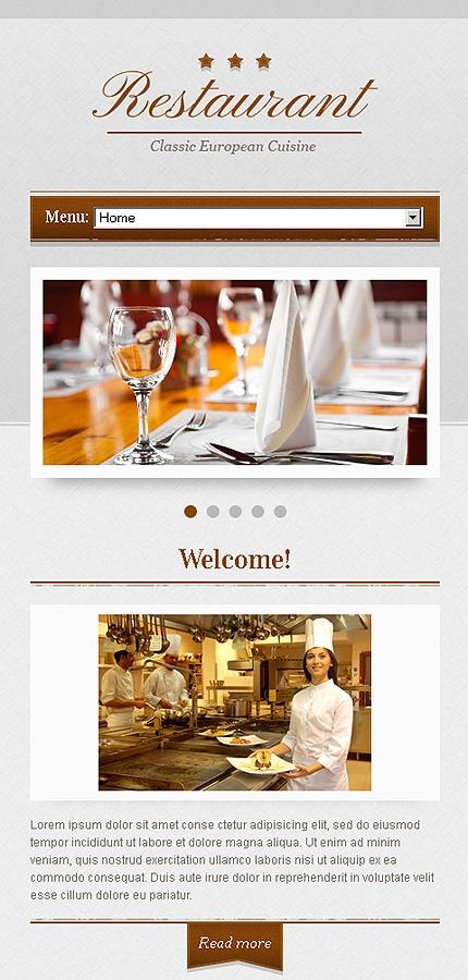 Best Restaurant Graphic Design Images On   Brochures