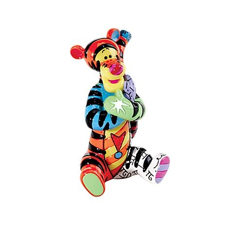 'Romero Britto' Classics 'Tigger' Figurine.jpg from the Disney Store - UK delivery Worldwide. Again another Fave of mine - he's just so adorable though often clueless it adds to his charm. Colourful, Bright & Fun <3<3<3