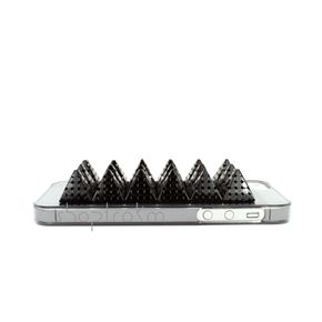 Smoked Clear Black iPhone 5 5S Case With Black Modern Spikes  ***********Shop now and use the code :REPIN to get 15% off and get FREE shipping within the U.S...
