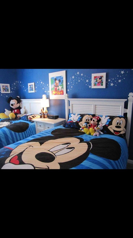 Boys Mickey Mouse room