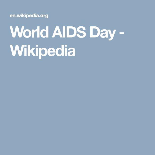 World AIDS Day - Wikipedia