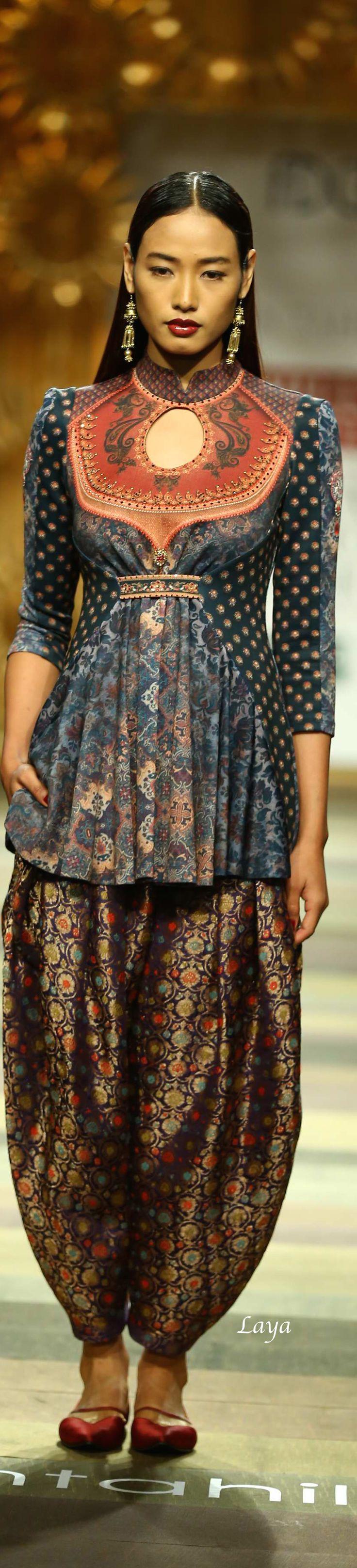 Tarun Tahiliani Fall/Winter 2014-15❋Laya / Indian Designer