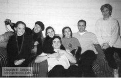 Before the 'Skates of Gold' show, 1995, Katia Gordeeva & Sergei Grinkov