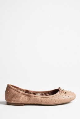Rose Leather Studded Frankie Ballerina Pump by Sam Edelman: Rose Leather, Ballerinas Pumps