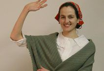 Simulation of Ellis Island Immigrant Experience.    From Ellis Island To Orchard Street With Victoria Confino