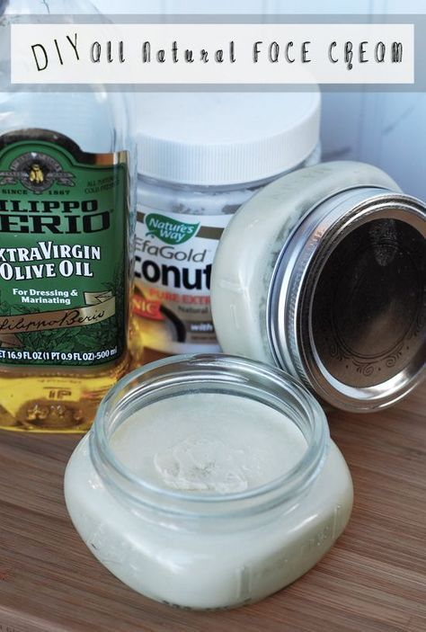 3 Ingredient, all natural face cream... Absorbs quickly and feels amazing in the morning! Help fight wrinkles and skin problems...Super easy and fast to make