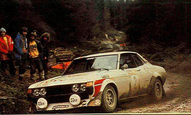 1977 International Welsh Rally (Mikkola Hannu - Hertz Arne) Toyota Celica 2000 GT