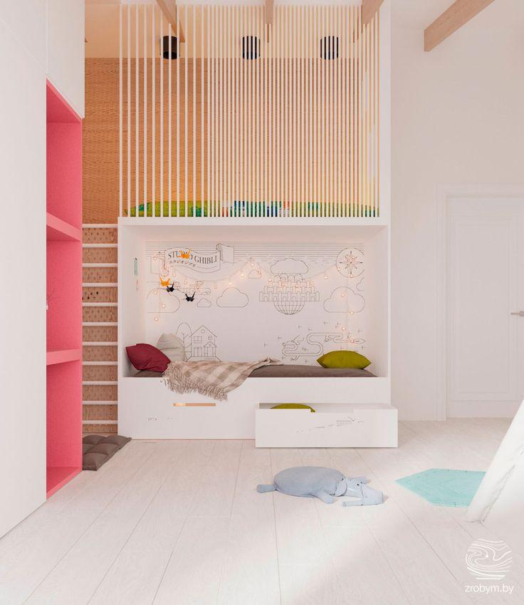 Mejores 1571 im genes de habitaciones infantiles y - Colores habitacion nino ...