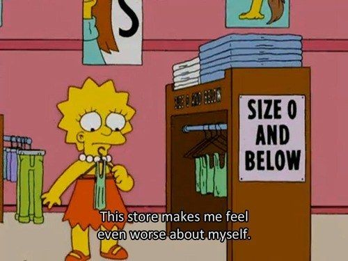 You only shop online. | 29 Signs You're The Lisa Simpson Of Your Family