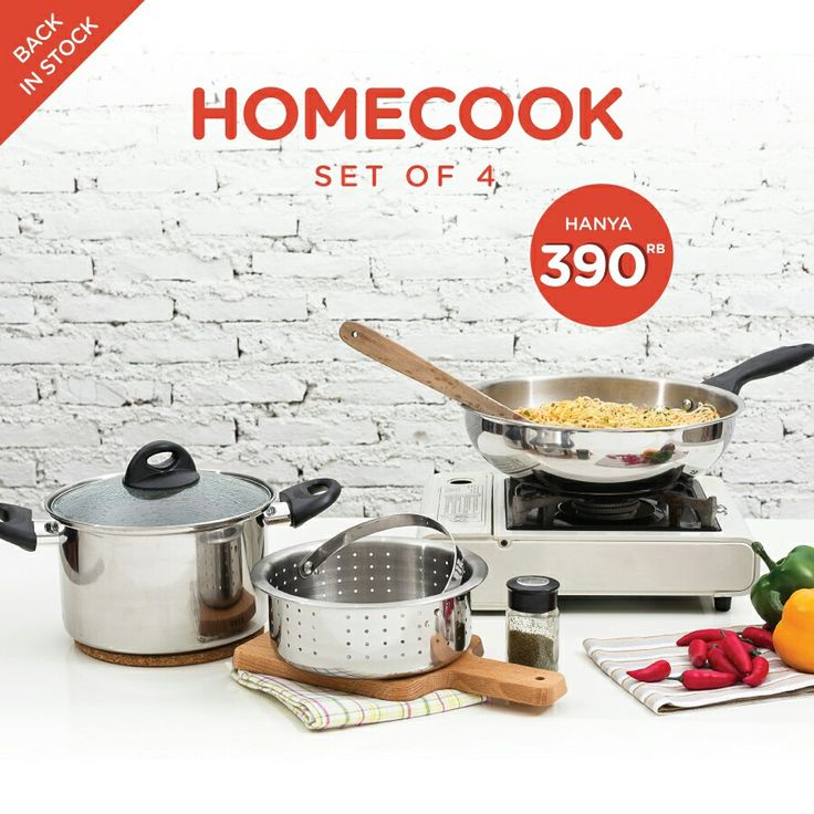 HOMECOOK of 4  ... 390rb