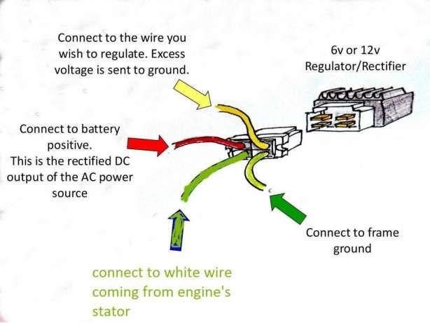 18 Motorcycle Regulator Diagram Motorcycle Diagram Wiringg Net Voltage Regulator Vintage Bikes Regulators