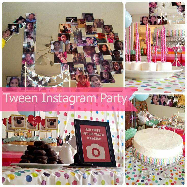 20+ Best Ideas About Instagram Birthday Party On Pinterest