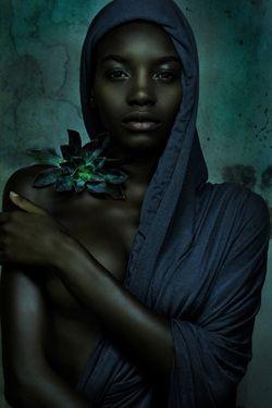 Krisjan Rossouw beautiful enchantress in the gloomy stormy shadows