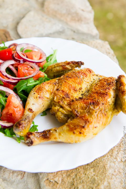 Цыпленок на гриле   Кулинарные заметки Алексея Онегина