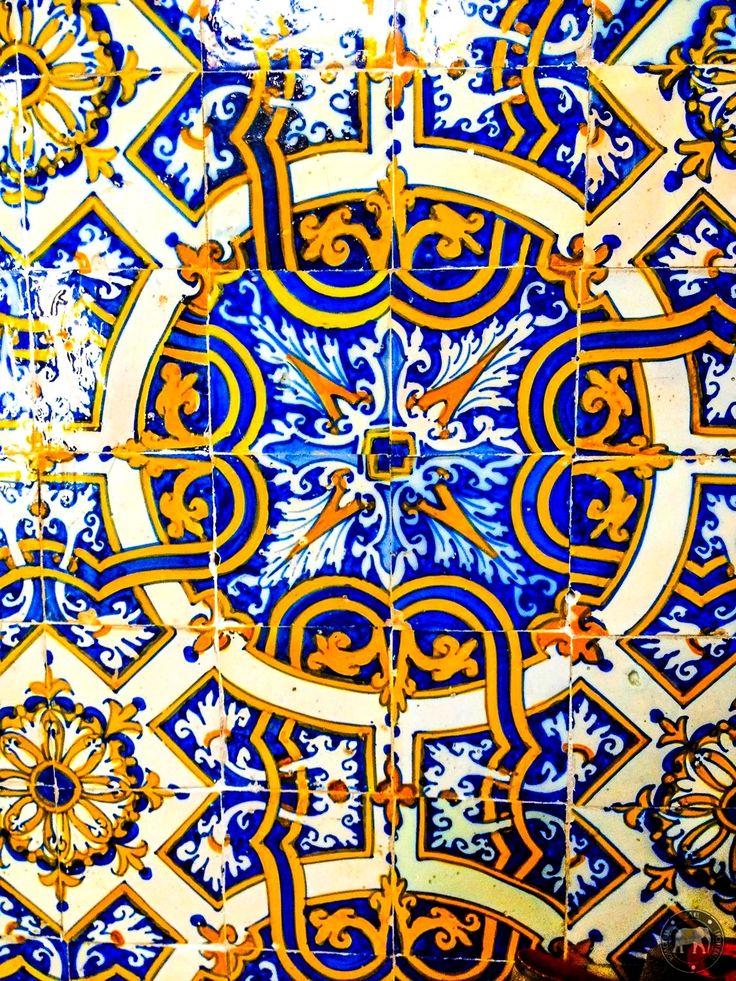 Superbe azulejos à l'Université de Coimbra