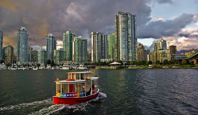 The aquabus making its rounds by footloosiety, via Flickr