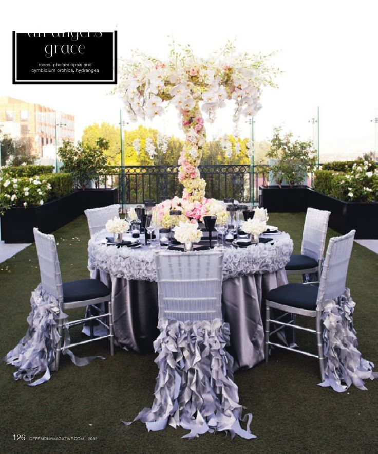 1000 images about table linen with style on pinterest for Wedding reception table linen ideas