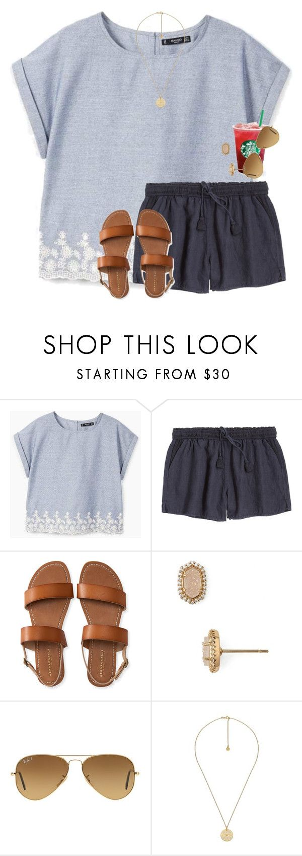 """""""Kinda obsessed with the Christy Miller series...."""" by amberfmillard-1 ❤ liked on Polyvore featuring MANGO, Calypso St. Barth, Aéropostale, Kendra Scott, Ray-Ban and Gucci"""