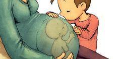 """Ember a talpán az, akinek spontán válaszai vannak a mai kisgyermekek szaporodásbiológiai kérdéseire. Persze, fel is lehet készülni!<a href=""""https://www.pinterest.com/pin/create/button/?url=http://librarius.hu/2016/08/05/anna-herzog-anya-hasaban-mano-konyvek/"""