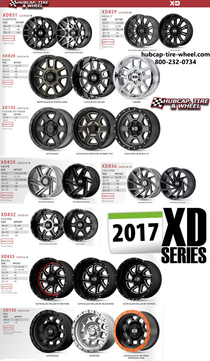 Brand new 2017 KMC XD Series Wheels & Rims are out!