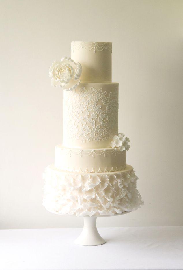 wedding cake trends 2017