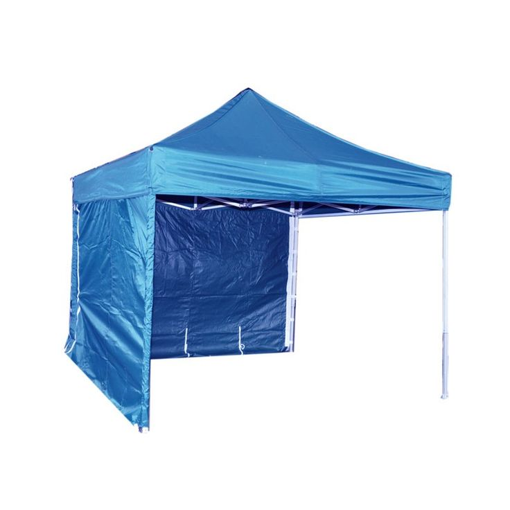 Gazebo - The 3m blue gazebo is easy to install on either hard standing or grass areas. It has so many uses: 1: acting as a sunshelter 2: protecting against rainy weather 3: providing cover for outdoor catering areas 4: acting as a shelter for outdoor stands and much more. Please note additional weights are needed for hard standing areas. It can be used with or without side walls and is an ideal piece of equipment to be used at festivals, barbeques, fun days, summer fayres and any outdoor…