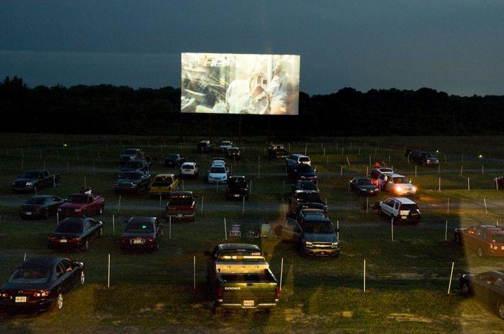 Wilderness outdoor movie theater trenton ga