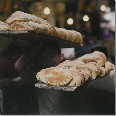 Lebanese Recipes - Arabic Bread (khoubz araby) For Shawarma