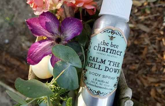 """""""Calm the hell down"""", a body spray available (for now) on Etsy, has been officially registered as a trademark by the U.S. Patent & Trademark Office."""