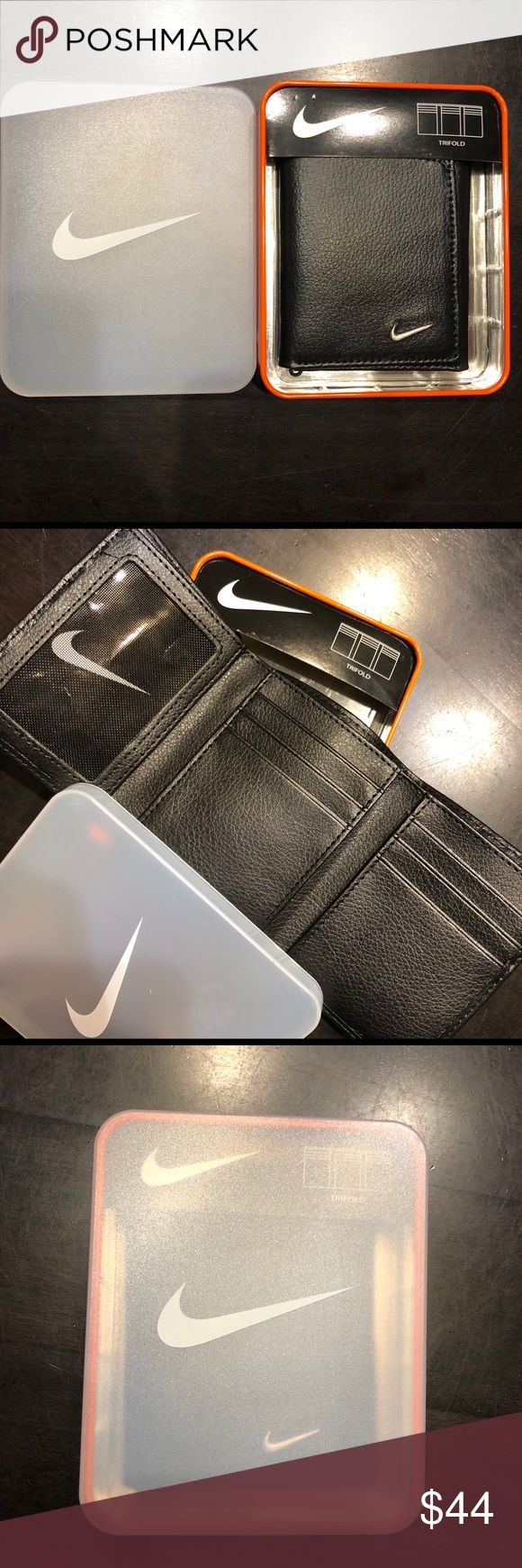 NEW Nike Tri Fold Wallet and Tin! NEW Nike Tri Fold Wallet and Tin! Nike Other