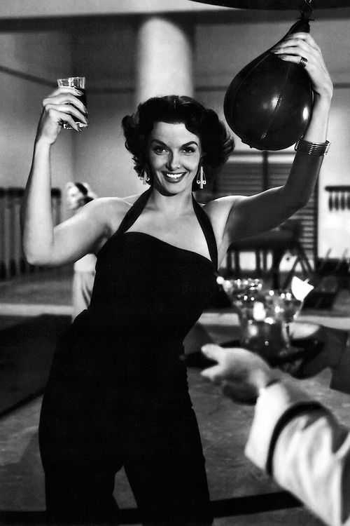 Jane Russell ~ production still from Howard Hawks' Gentlemen Prefer Blondes (1953)