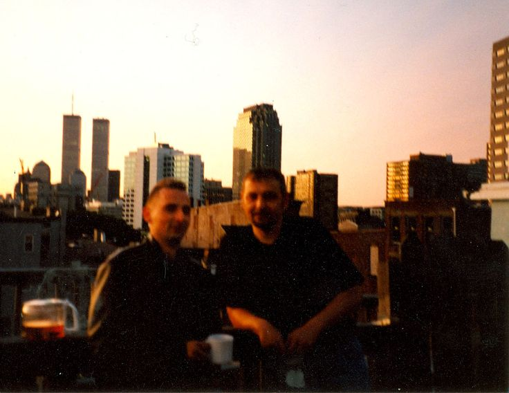 On the roof, New York, June 2001