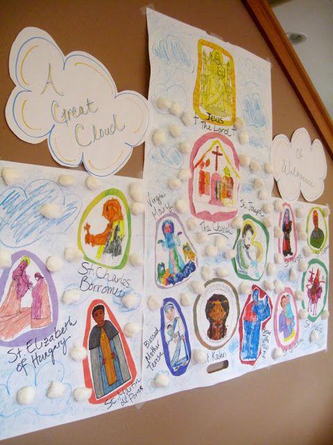 cloud of saints for all saints day