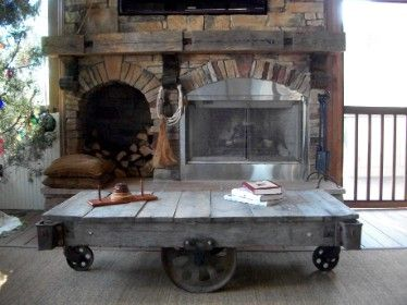 Antique Cart Coffee Tables. Great Resource For These Carts.