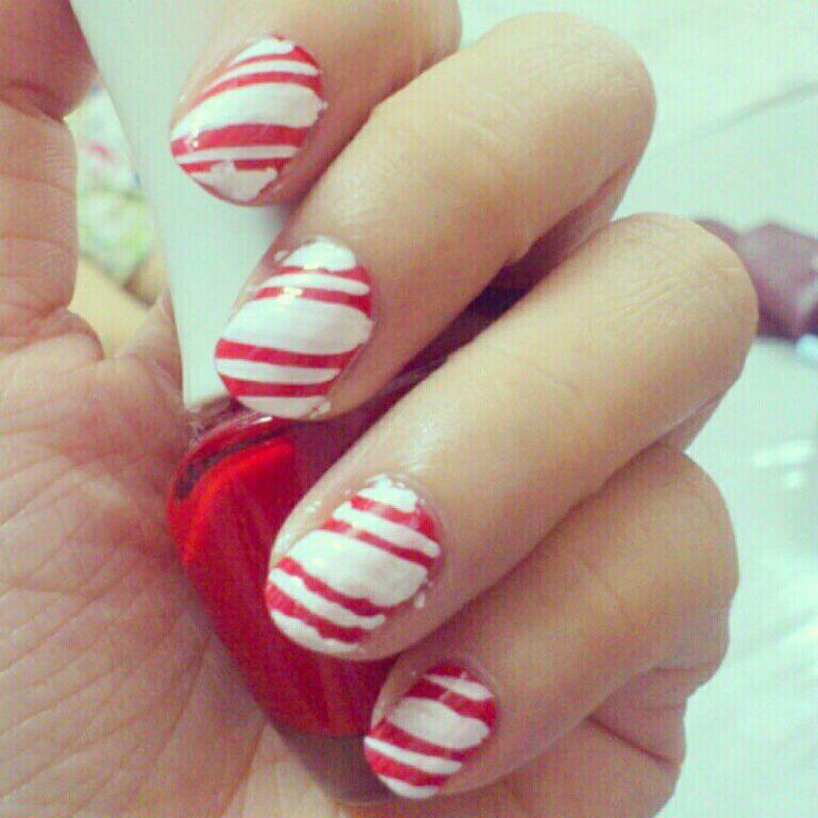 Xmas manicure