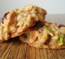 Овсяное печенье с изюмом и яблоком рецепт с фото