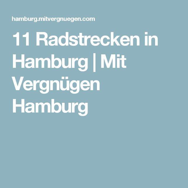 11 Radstrecken in Hamburg | Mit Vergnügen Hamburg